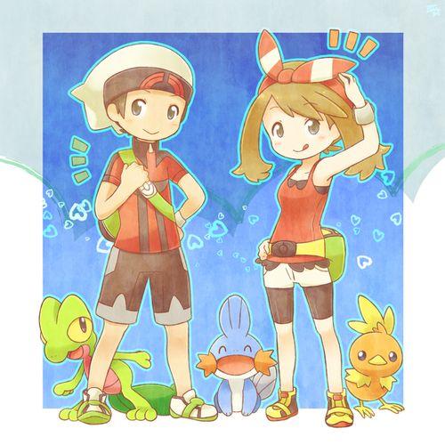 Haruka and Yuuki Chibis :3