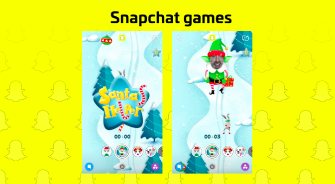 """Snapchat is at it again with the launch of """"filter games"""