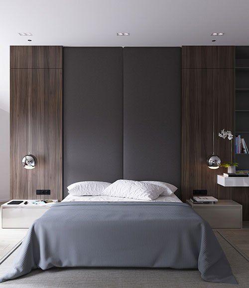 modern neutral bedroom design NEUTRAL MODERN APARTMENT by ANTON SUKHAREV | bedrooms