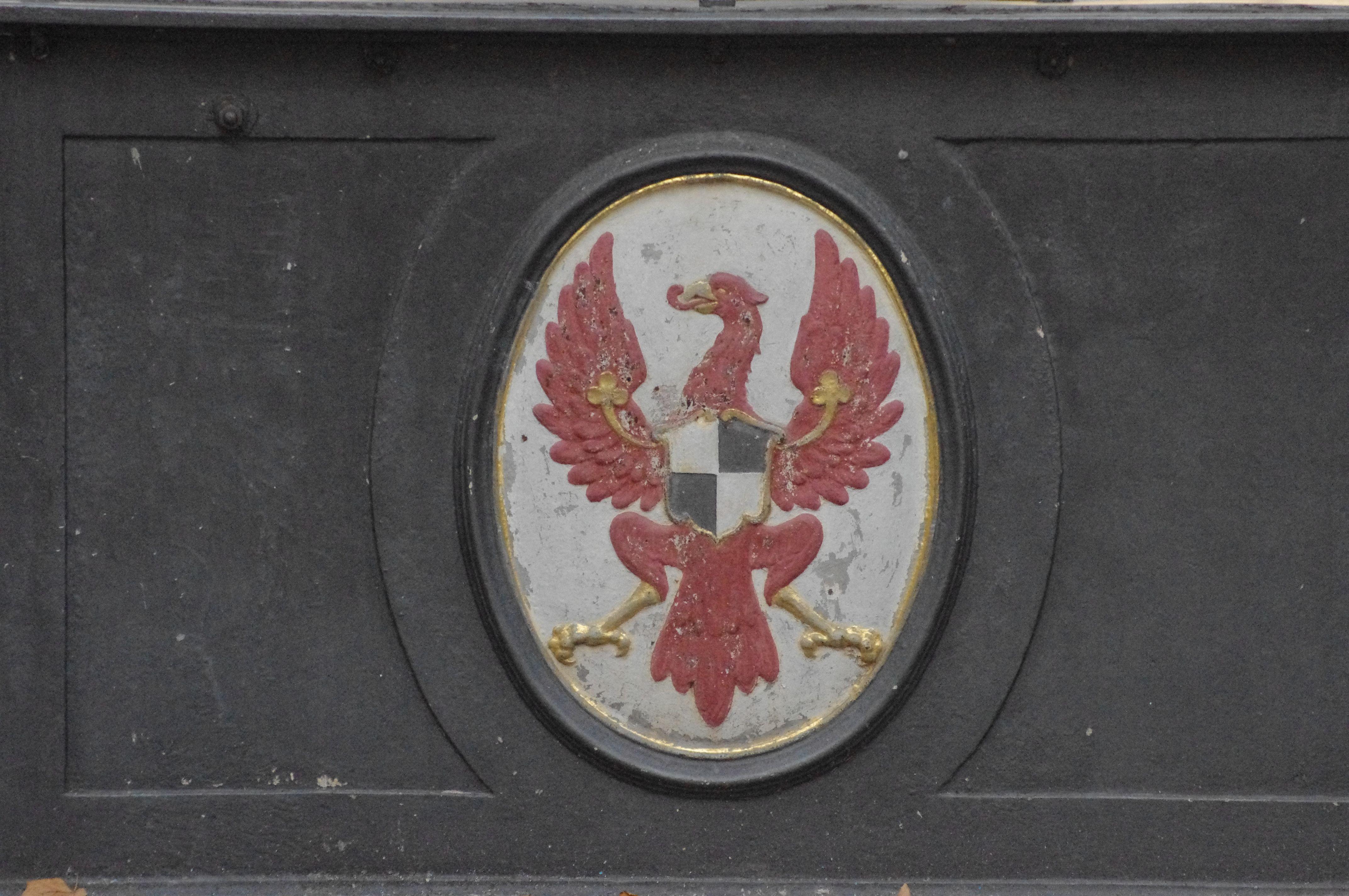 Hohenzollern Wappen Ansbach Markgraf Georg Brunnen Boutique