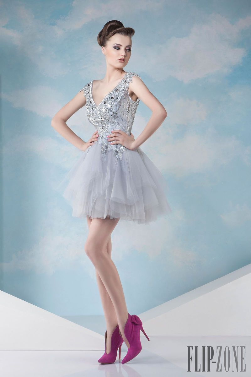 Tony Chaaya Spring-summer 2014 - Couture - http://www.flip-zone.net ...