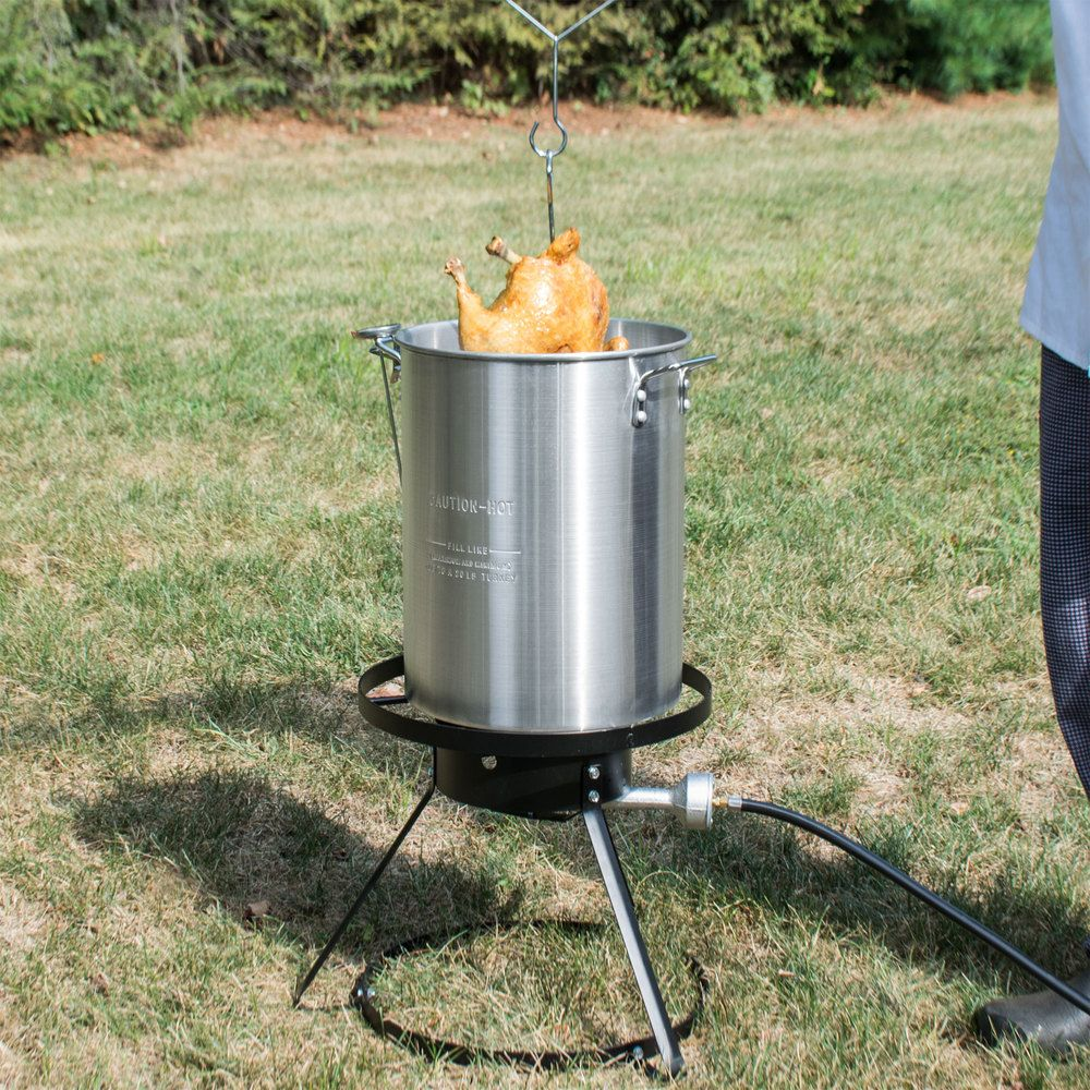 Turkey fryer - Backyard Pro Weekend Series 30 Qt. Turkey Fryer Kit With Aluminum