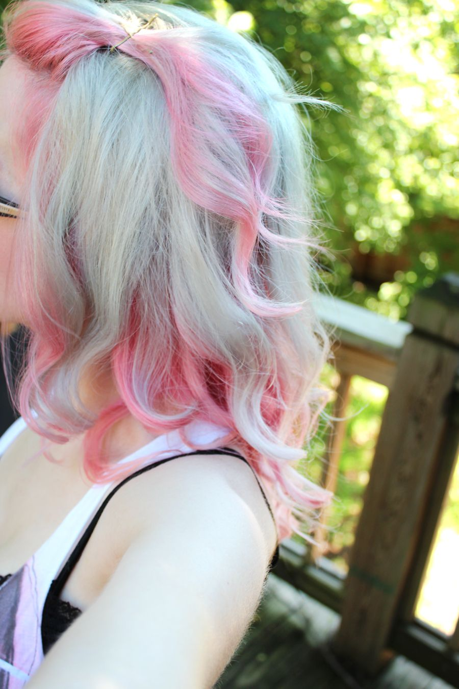 Cuty uc two tone haircolors uc pinterest hair coloring