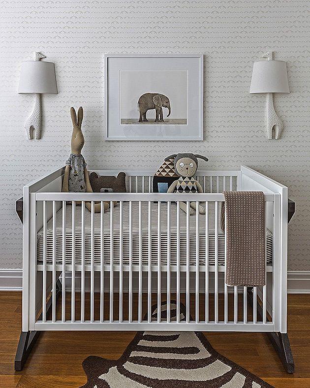Modern Nursery baby chic: 4 ideas for a modern nursery | modern nurseries