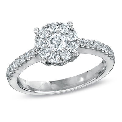 I've tagged a product on Zales 5/8 CT. T.W. Diamond