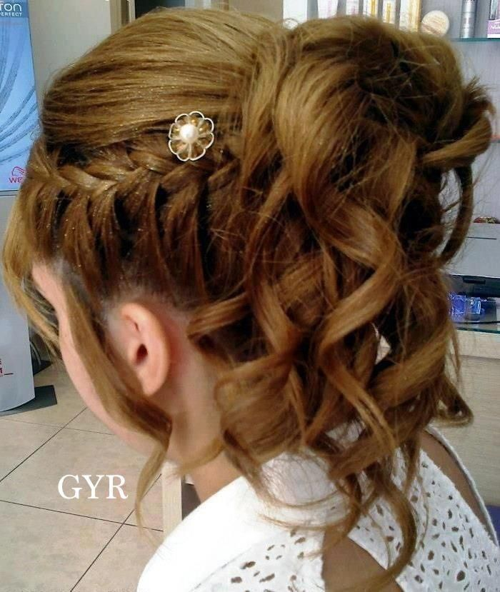 Hair Style For Little Girl 1 (special Occasion)