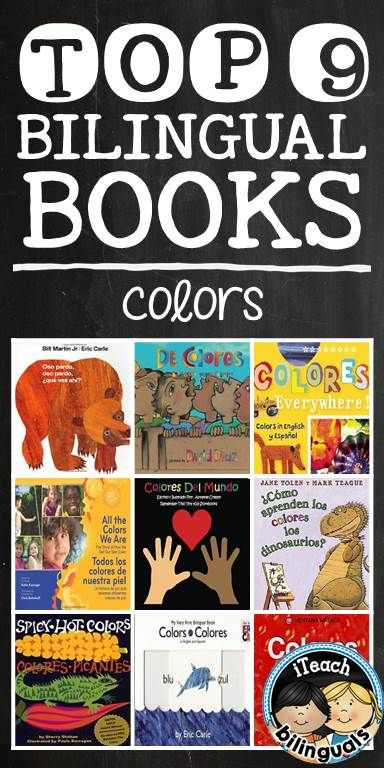 Top 9 Bilingual Books for teaching alphabet letters \ colors - letters of recommendations