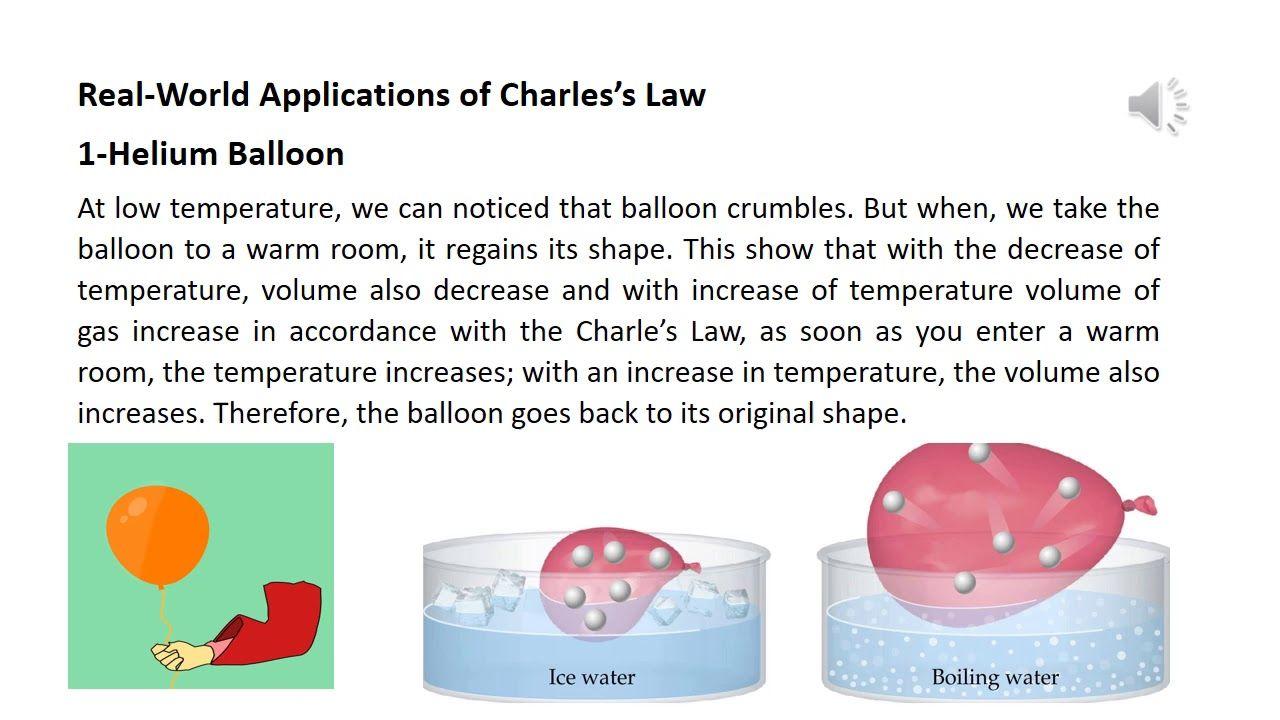 Pin By Shoukatchemist On Www Youtube Com Channel Ucx Xvwfzqz7kfv Xsri7mta Charles Law Graphing Helium Balloons