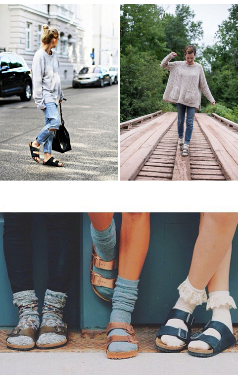 af05787576a8 20 Style Tips On How To Wear Birkenstocks For Fall