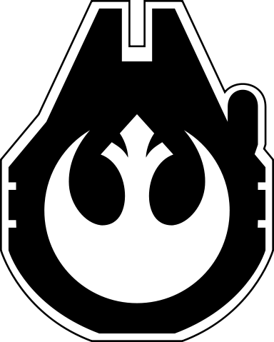 Timeline Of The Galactic Civil War Star Wars Silhouette Star Wars Prints Star Wars Artwork