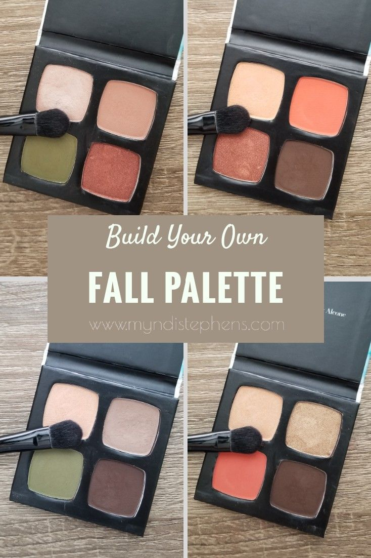 Custom Fall Eyeshadow Palette from LimeLife by Alcone