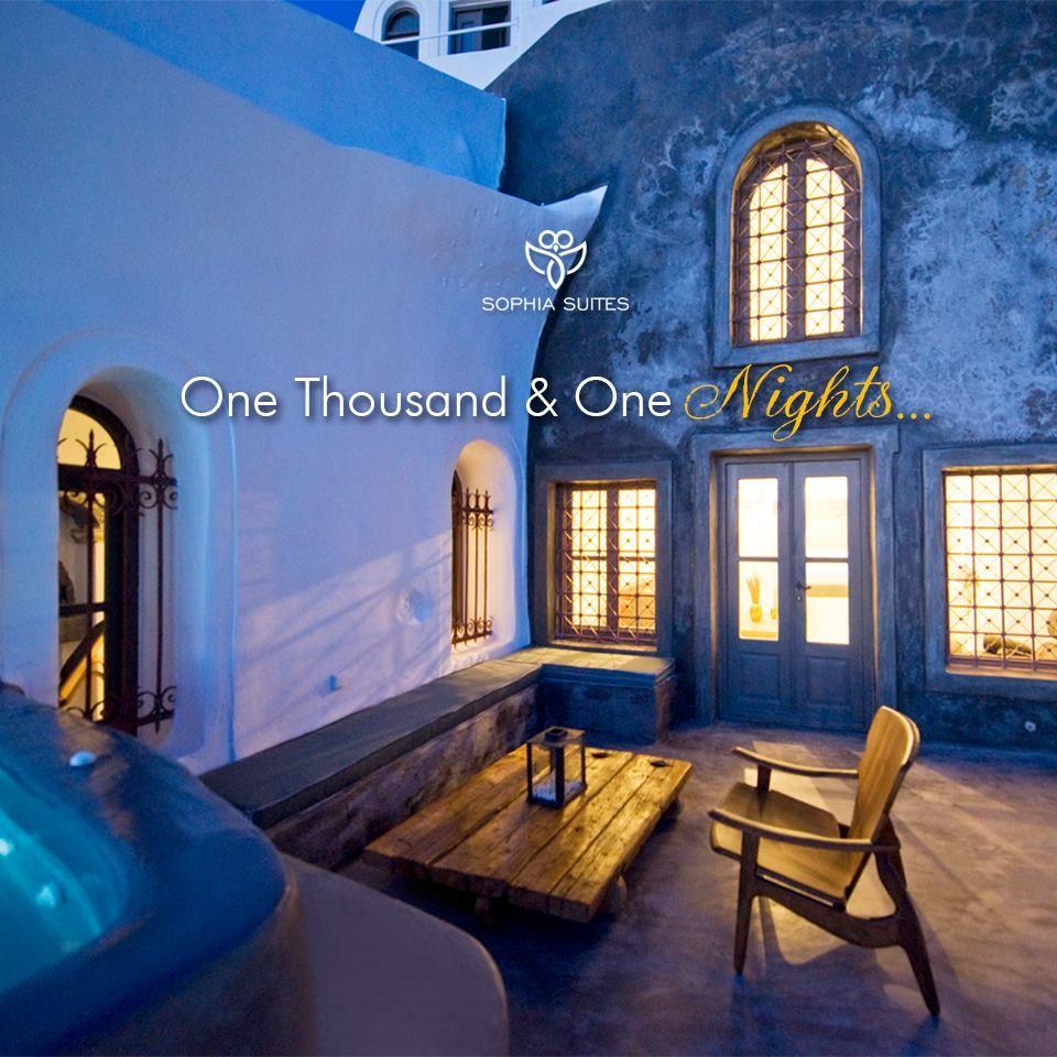Like a fairytale! www.sophiasuites-santorini.com #sophiasuites #santorini #imerovigli