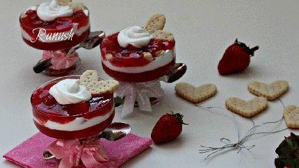 ترايفل الباي والفراولة Recipe Arabic Sweets Food Desserts