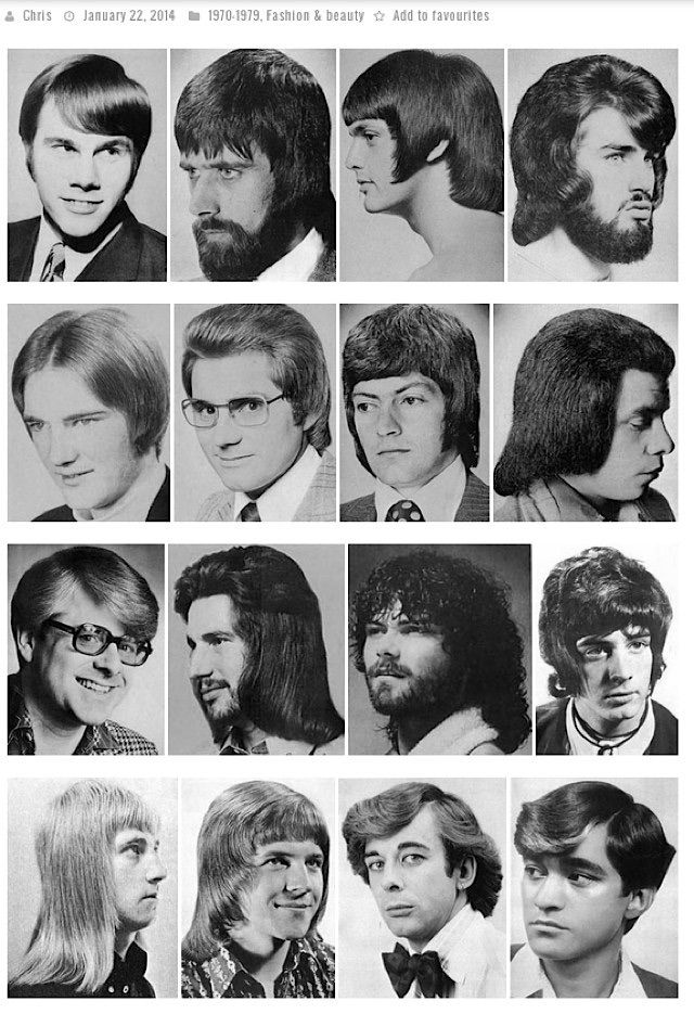 In The 1970s Mens Hairstyles Were Completely Different From The Trends We Have Seen Before Long Hair Was The Way To Go Retro Haircut 1970s Hairstyles 70s Hair