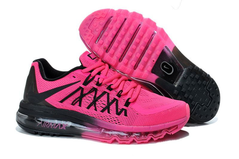 c89352819d Nike Air Max 2015 black pink Shoes Womens | Things I want | Nike air ...