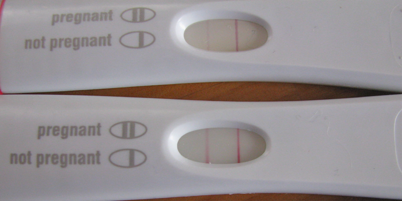 Pregnancy test during period