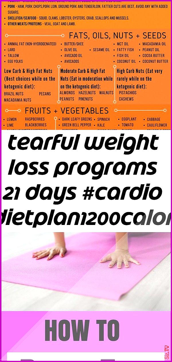 Tearful weight loss programs 21 days cardio dietplan1200calorie 2 Tearful weight loss programs 21 da...