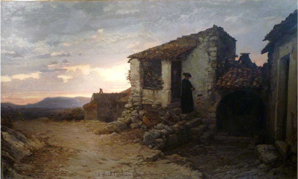 Alfonso simonetti 1840 1892 case rustiche a castrocielo country