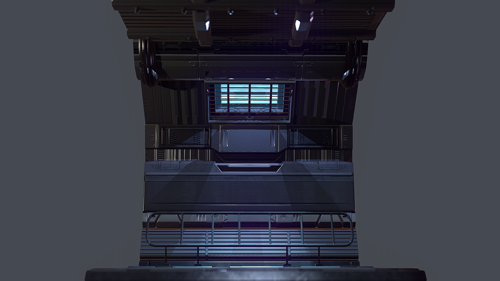 Science Fiction Environment - Polycount Forum