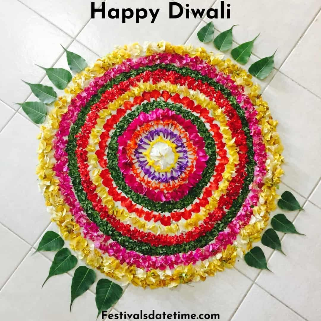 Rangoli Designs For Diwali 2020 in 2020 (With images