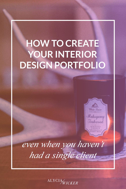 Create Your Interior Design Portfolio To Get Clients