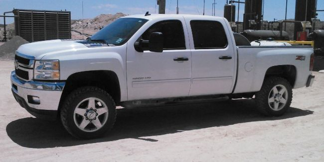 2013 Chevrolet Silverado 2500hd Duramax Z71 4x4 Pickup Truck For