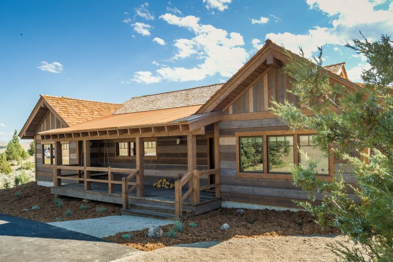 Our Work Rustic Exterior Cabin House Exterior