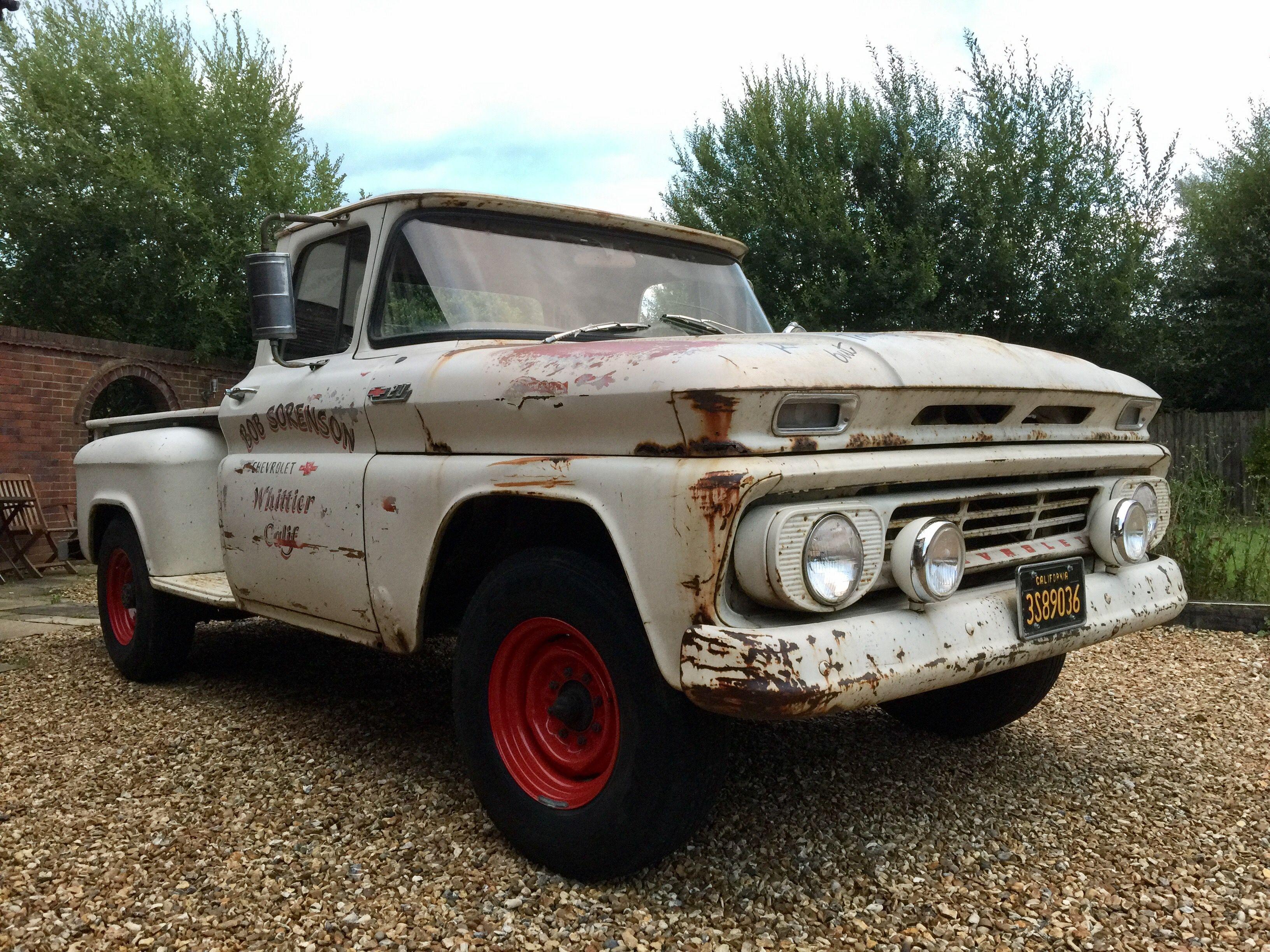 My chevy c20 lwb 1962 rusty but trusty