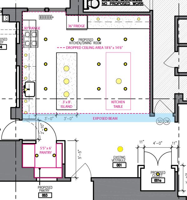 Small Kitchen Lighting Layout: Planning Kitchen Lighting Layout