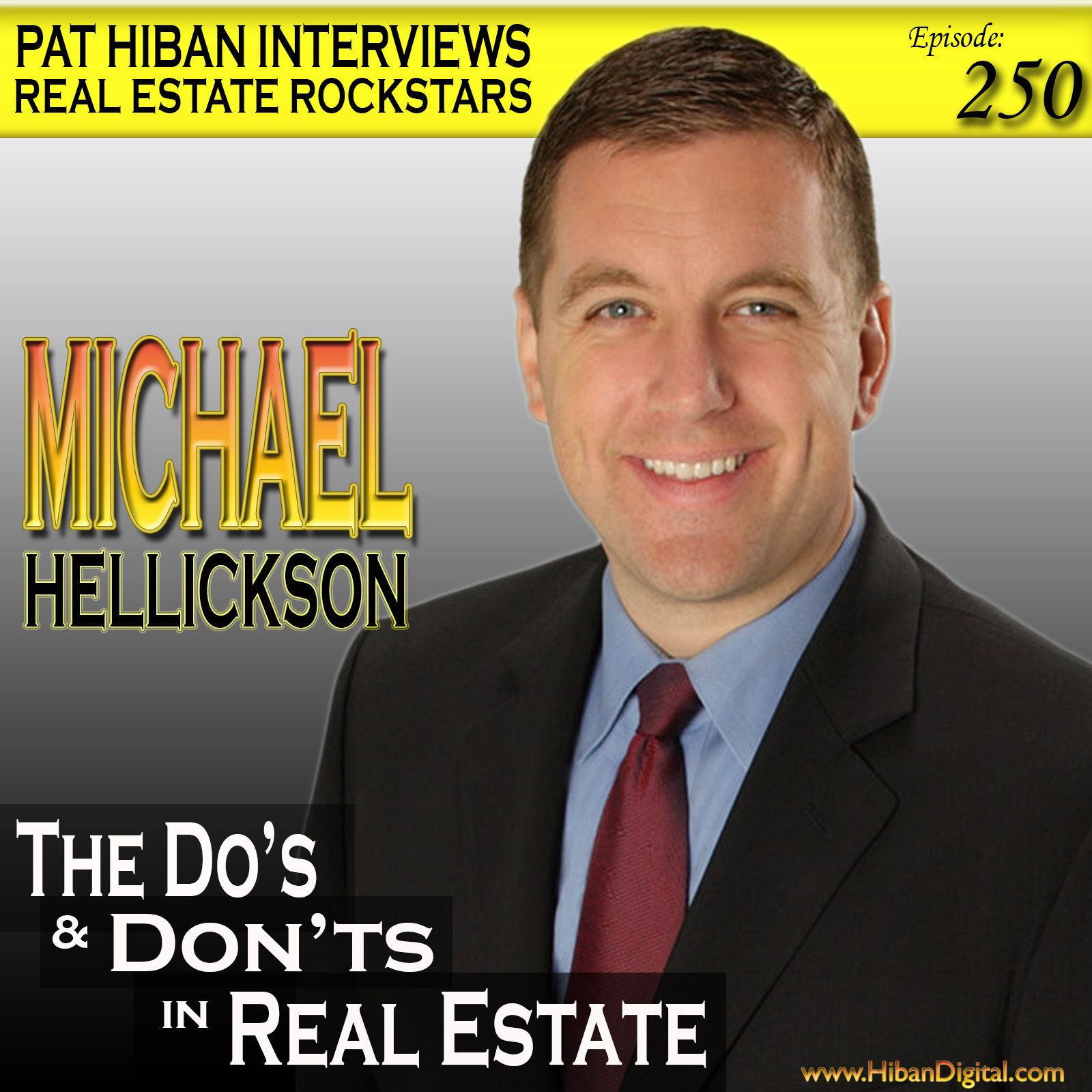 Michael Hellickson is a full-time real estate coach. He has listed/sold over 100 homes/month as an agent. At his peak,Michael carried over 750 listings, 44 team members and $5mil in pending commissions... #realestate #podcast #pathiban #hibandigital #hibangroup #HIBAN #realestatesales #realestateagent #realestateagents #selling #sales #sell #salespeople #salesperson #michaelhellickson