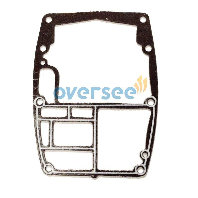 OVERSEE 6H3-45113-A0-00 Gasket Upper Casing Replaces For Yamaha 60HP  Parsun Powertec Outboard Engine Upper Casing Gasket