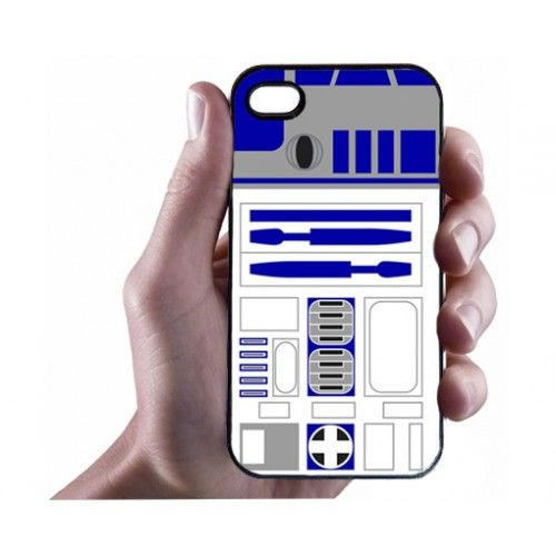 R2D2 iPhone 4/4s Case - Hard Plastic Cell Phone Case