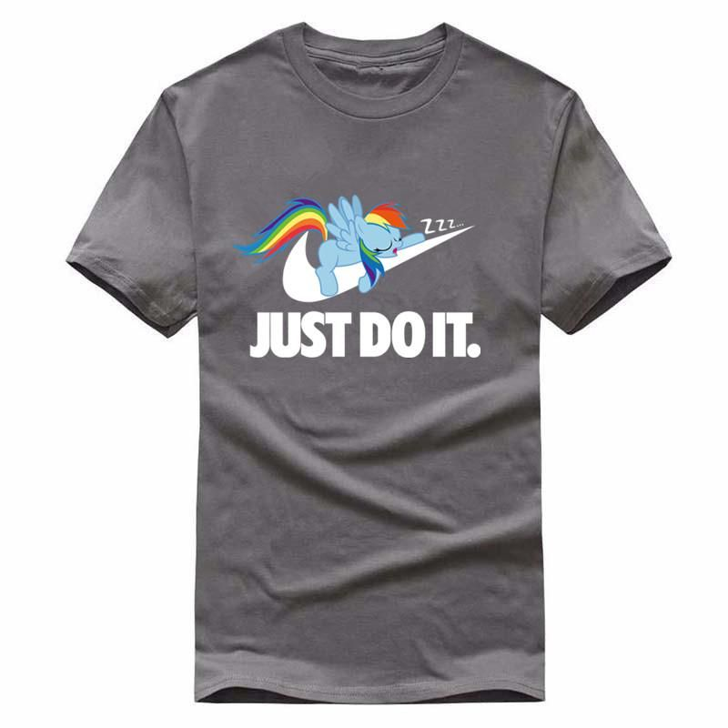 380036bb0a381 My Little Pony meets Nike Parody Just Do It T Shirt- Multiple Colors to  Choose from