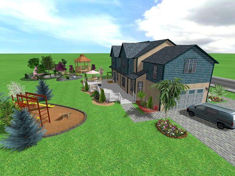 Landscape Design Software Gallery Page 2 Acreage Landscaping Large Backyard Landscaping Backyard Landscaping