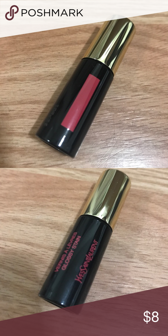 781d2ed40e18 NEW YSL glossy stain 12 mini New travel size. Super flattering. Yves Saint  Laurent Makeup Lip Balm   Gloss