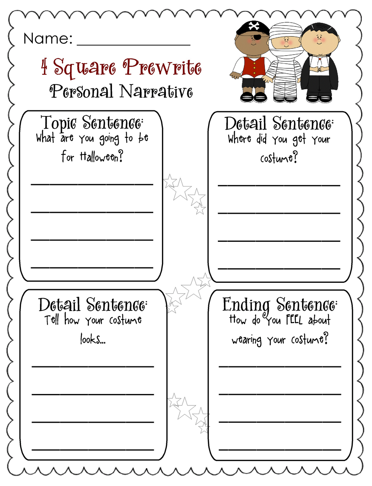 Worksheets Four Square Writing Worksheets 52 best four square writing images on pinterest teaching ideas and ideas