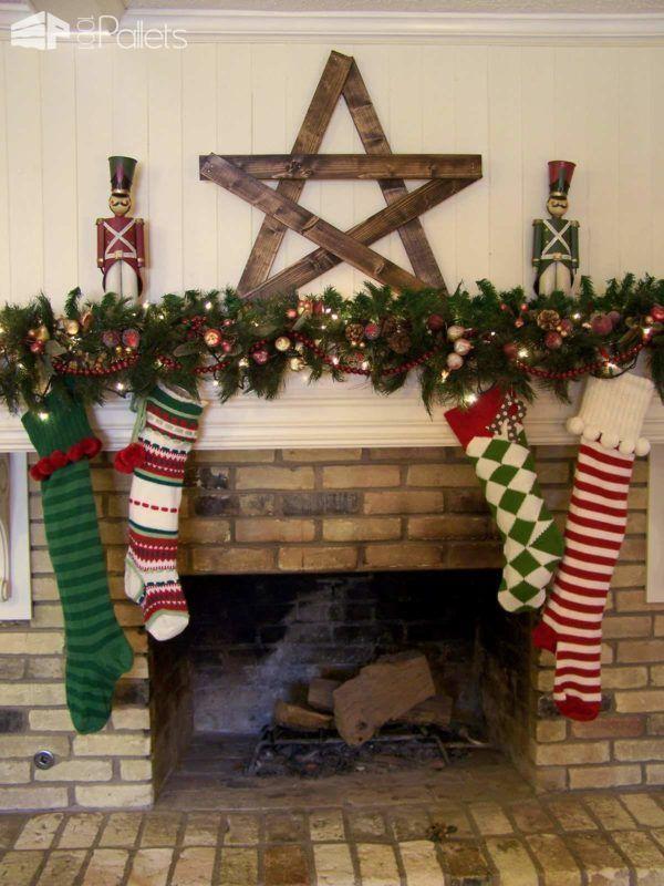 40 Pallet Christmas Trees  Holiday Decorations Ideas Tree