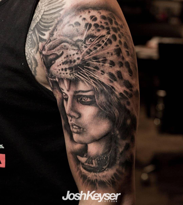 Tattoo By Joshua Keyser Joshkeysertattoos At Revolution Ink In Pelham Alabama Revolutionink Revcrew Joshkeyser Jaguar Tattoo Realism Tattoo Tattoo Artists