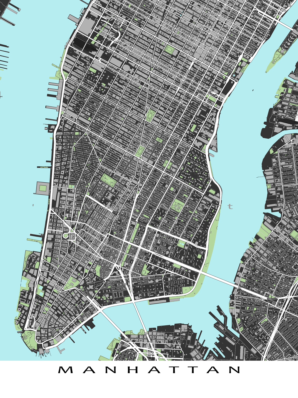 This Lower Manhattan Street Map Has Shows Buildings Buildings - Nyc map lower manhattan