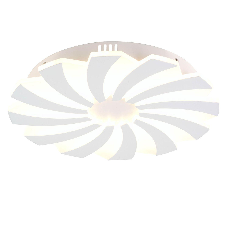 Deckenleuchte Weiss Kupfer Led Deckenlampe Rund Led