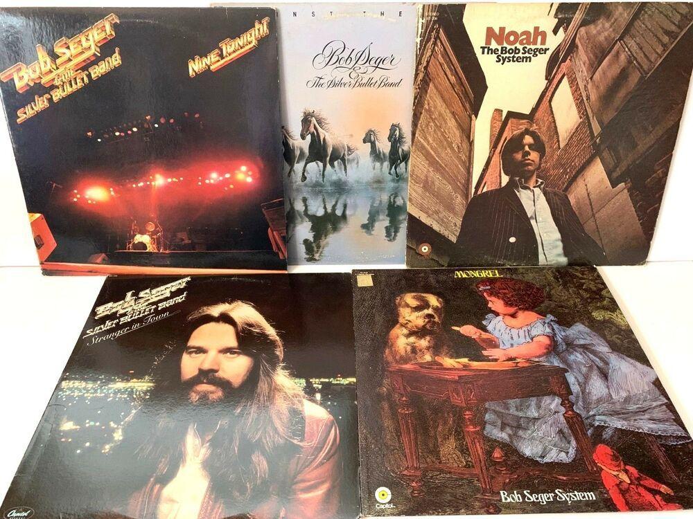 Bob Seger Lp Vinyl Record Album Lot Stranger In Town Nine Tonight Mongrel Vinyl Records Lps Vinylrecords Stores Ebay Com Capc Vinyl Records In 2019