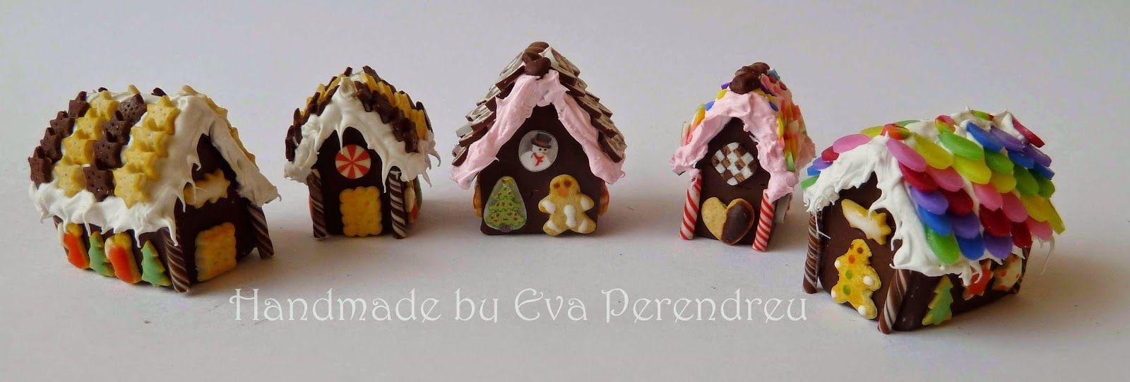 Mini Escenas, Miniaturas de Eva Perendreu: Taller Casita de jengibre - casa de jengibre Taller