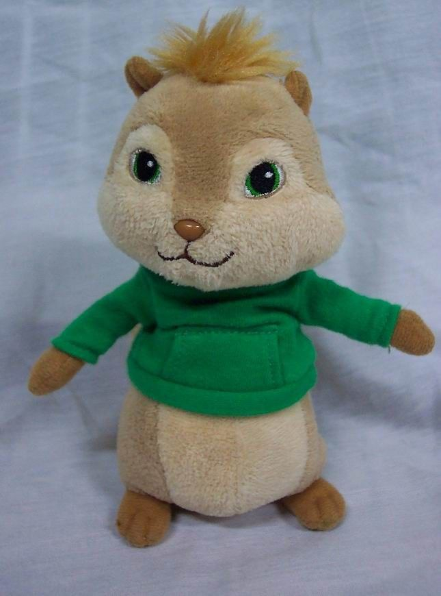 TY Beanie Baby Alvin and the Chipmunks THEODORE 6