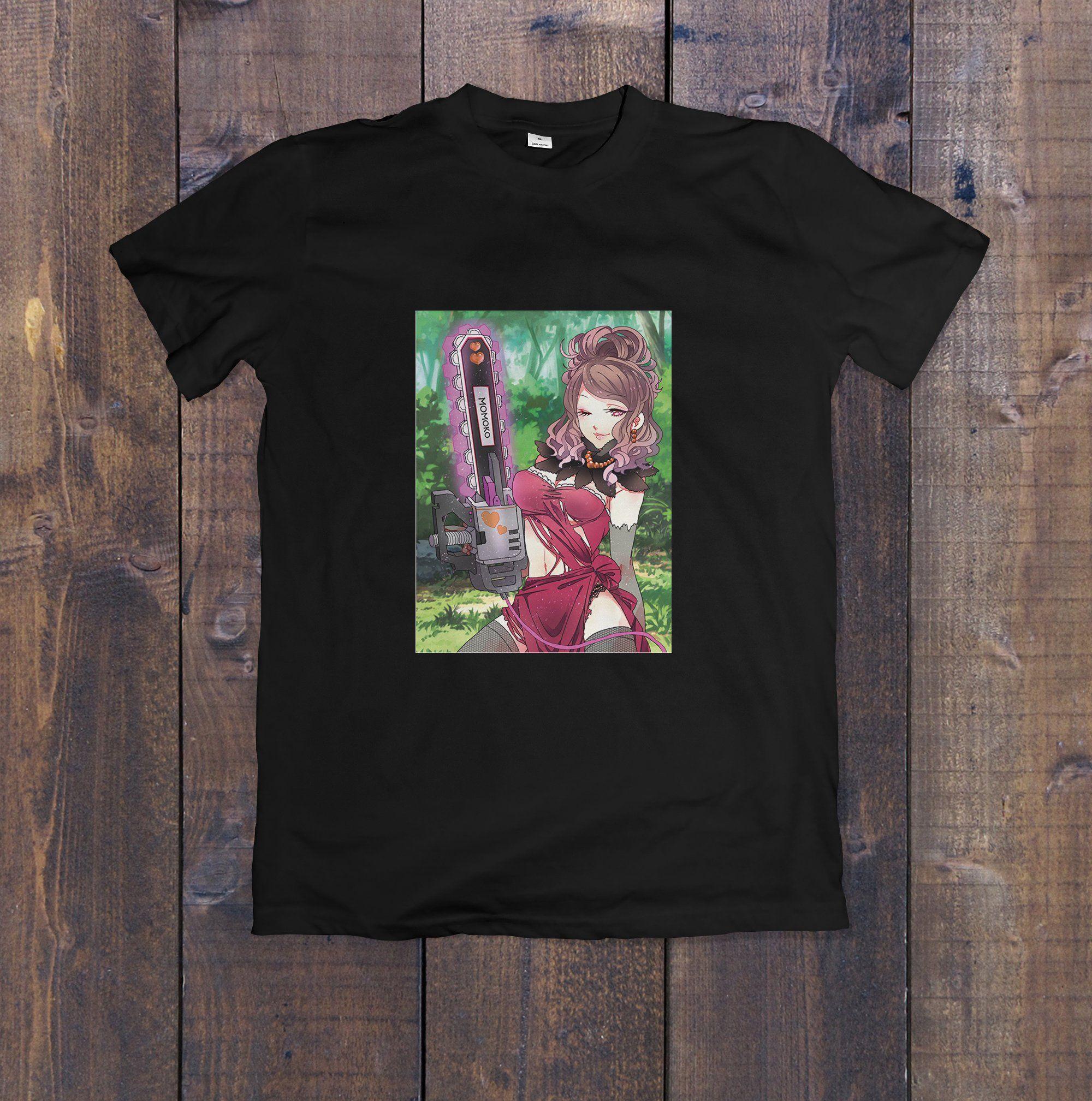 Kawaii Japanese Anime T Shirt Manga Free Shipping Gift For