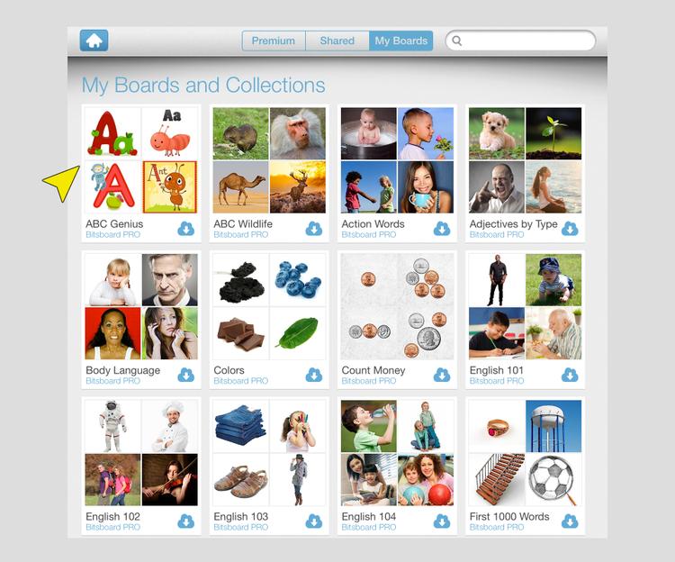 Bitsboard er en app med bla vendespil. Du kan bruge eksisterende spil eller lave dine egne. Det er pærenemt at bruge. Henvisningen er til vejledning i hvordan appen fungerer.
