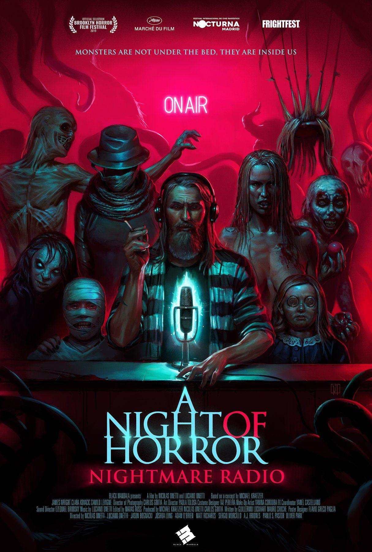 Eloscurorincondelterror Horrormovies A Night Of Horror Nightmare