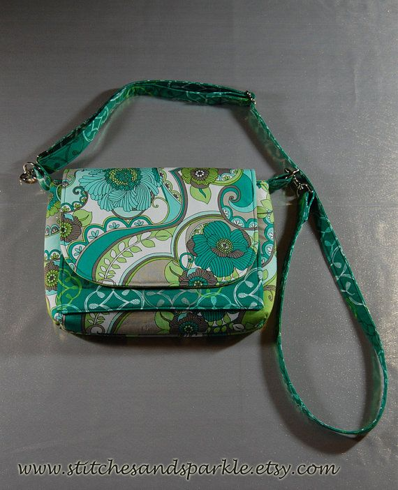 Teal  Lime Green  Earth Tones Wallet Purse by StitchesandSparkle, $32.00