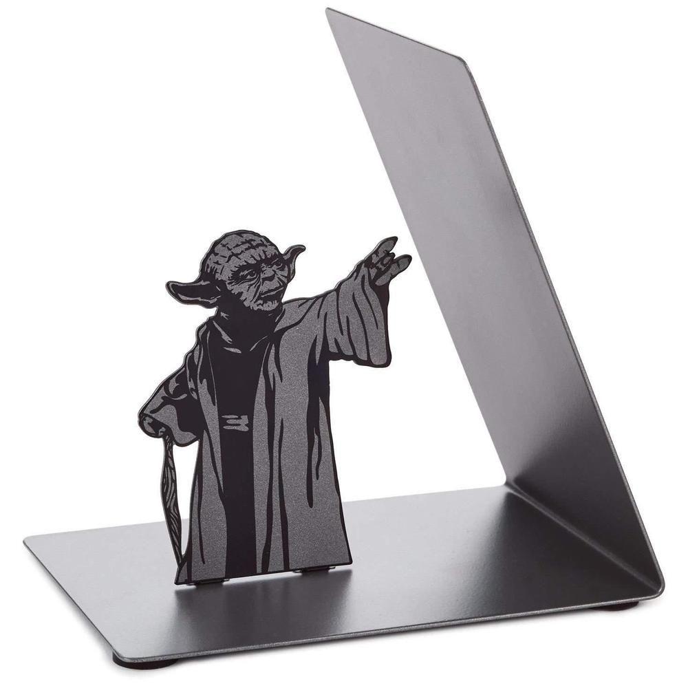 Genuine Hallmark Star Wars Yoda Metal Bookend Desk Accessory Book