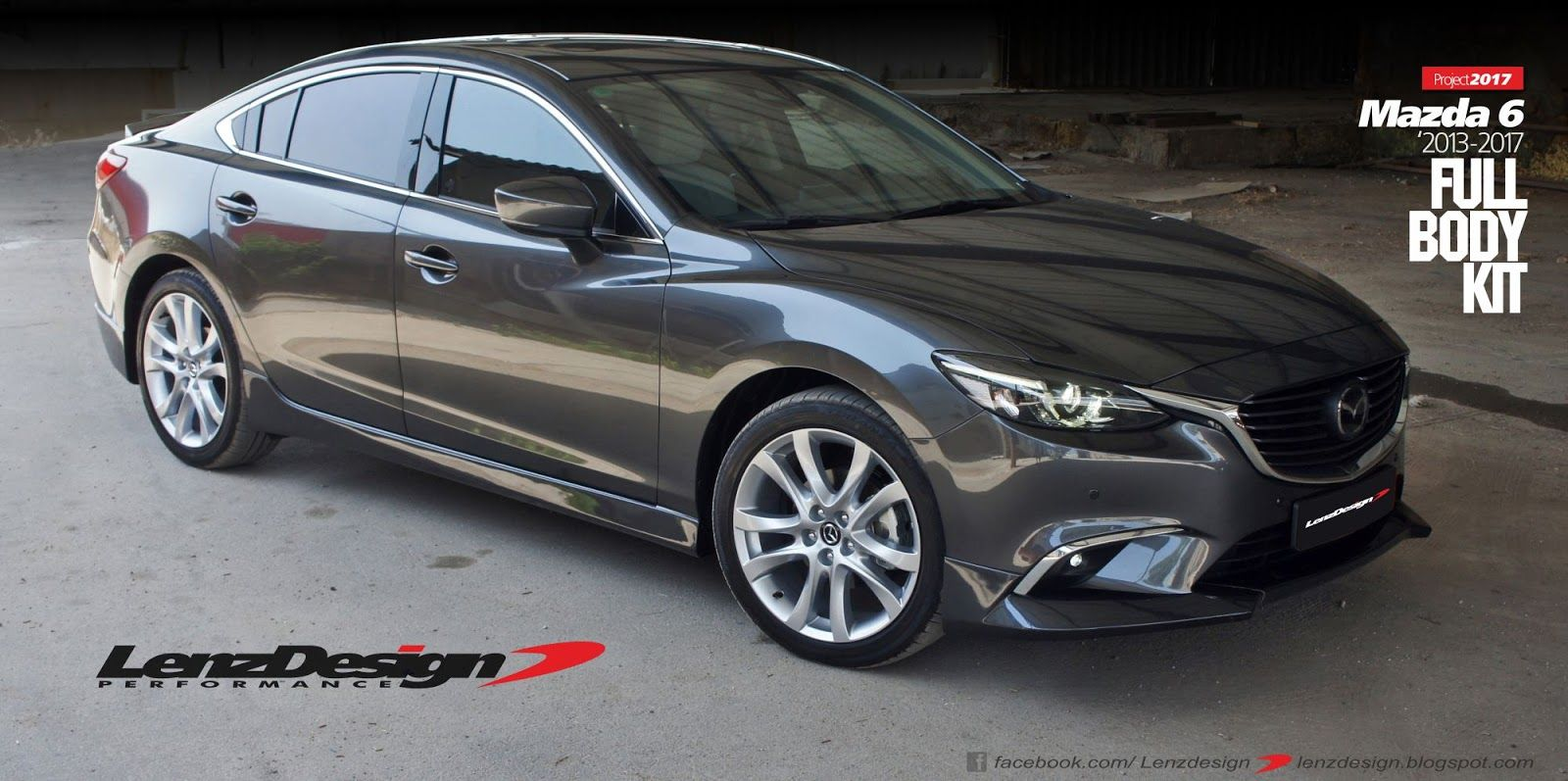 mazda 6 gj atenza tuning body kit lenzdesign performance. Black Bedroom Furniture Sets. Home Design Ideas