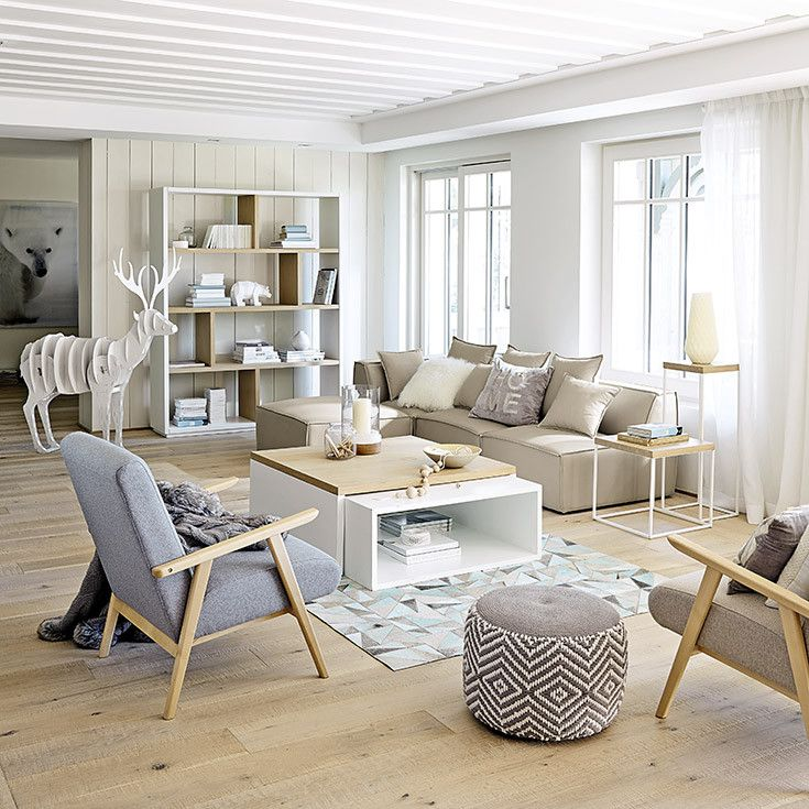 Meubles d co d int rieur contemporain maisons du for Decoration appartement style scandinave